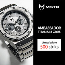 MSTR Watches - Ambassador Limited Edition 500 st.