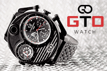 GTO Watch - Pit Lane herenhorloge 55mm