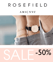Rosefield SALE - 50% Korting op Horloges en Sieraden