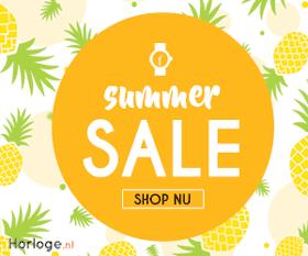Summer Sale bij Horloge.nl