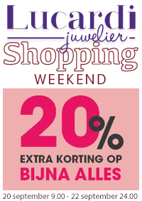 Shopping Weekend - 20% Extra Korting
