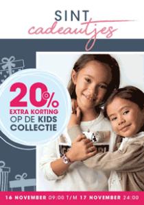 Sint actie - Korting op Kindersieraden