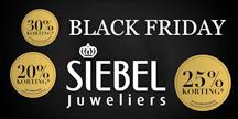 Black Friday bij Siebel Juweliers