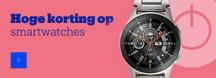 Korting op Smartwatches bij bol